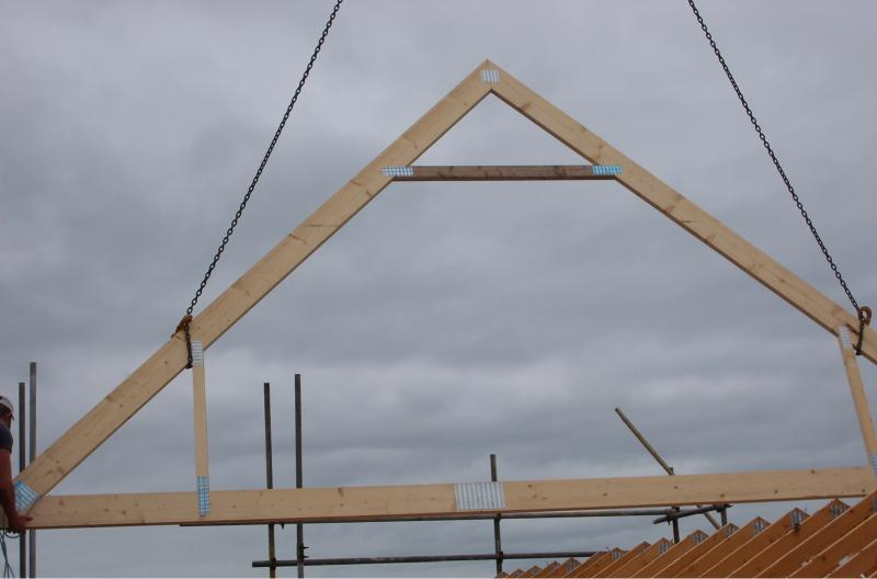 Bambridge loft conversions attic truss conversion the for Truss lofts