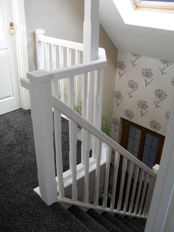 Bambridge Loft Conversions Straight Flight Stairs